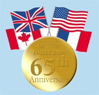D Day Commemoration Pin Image