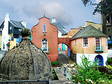 Portmeirion Village And Gardens Hotel Imagination In North Wales
