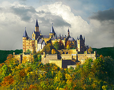 Above Is Hohenzollern Castle