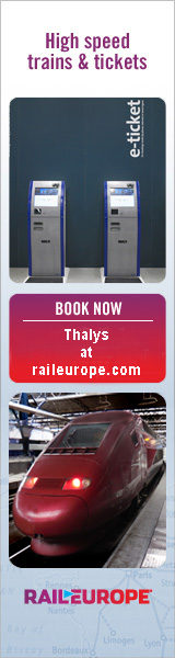 Book Thalys from Rail Europe