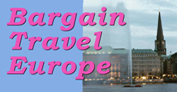 Bargain Travel Europe Guide to Europe on a Budget  logo image