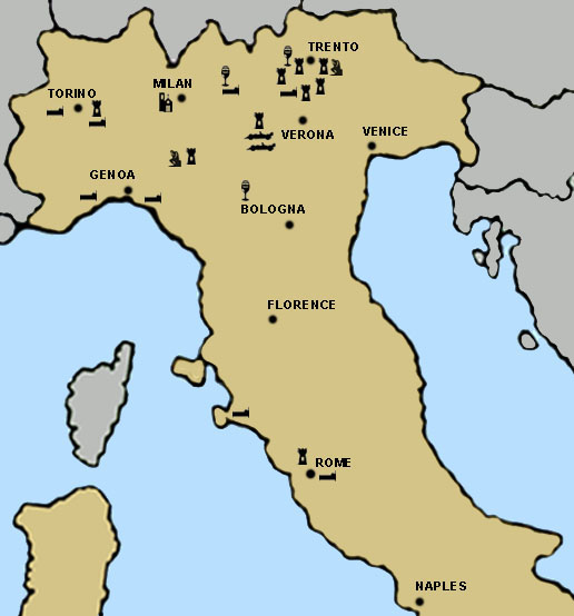 Clickable Story Map for Italy Travel Destinations Ideas on Bargain – Travel Map Of Italy