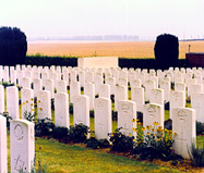 Cemetary of WWI Northern France photo