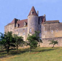 Chateauneuf en Auxois castle of Burgundy France wine tasting tour area Bougogne photo