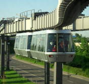 Dusseldorf Airport Sky Train photo