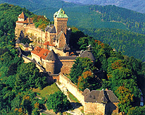 Castle Haut Koenigsbourg in the Vosges photo