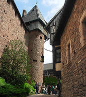 Tower at Castle Koenigsbourg photo
