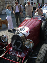 Bugatti at Mille Miglia photo