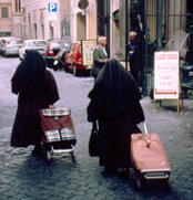 Rome tour Vatican City nuns photo