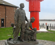 Morman Immigrants Statue Mersy photo
