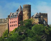 Auf SchÖnburg Rhine Castle Hotel Riomantic Oberwesel On The Schoenburg